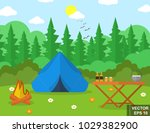 landscape. recreation. journey. ... | Shutterstock .eps vector #1029382900