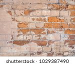 old brick wall texture for... | Shutterstock . vector #1029387490