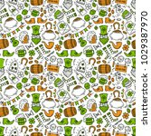 st patrick day irish seamless... | Shutterstock .eps vector #1029387970