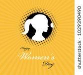 women's day background | Shutterstock .eps vector #1029390490