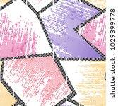 abstract seamless vector... | Shutterstock .eps vector #1029399778