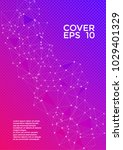 cover layout  pink blue design. ... | Shutterstock .eps vector #1029401329