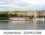 hamburg  germany   september 07 ...   Shutterstock . vector #1029411388