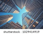 office building top view... | Shutterstock . vector #1029414919