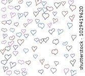 hand drawn hearts. background.  ... | Shutterstock .eps vector #1029419620