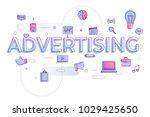 "flat design typography concept ""... | Shutterstock .eps vector #1029425650"