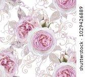 seamless pattern. decorative... | Shutterstock . vector #1029426889