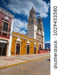campeche  mexico   january 31... | Shutterstock . vector #1029453580
