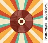 retro music design | Shutterstock .eps vector #1029461098