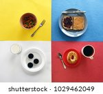 foods that go together on a... | Shutterstock . vector #1029462049