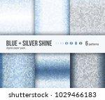 digital paper pack  set of 6... | Shutterstock .eps vector #1029466183