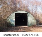 Old Unused Bunker Door Way She...