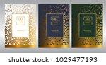 luxury premium menu design... | Shutterstock .eps vector #1029477193