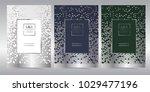 luxury premium menu design...   Shutterstock .eps vector #1029477196