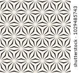 seamless geometric pattern.... | Shutterstock .eps vector #1029485743