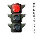 traffic lights  10eps. green... | Shutterstock .eps vector #1029502159