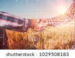 stocks and shares against... | Shutterstock . vector #1029508183