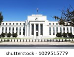 federal reserve building in... | Shutterstock . vector #1029515779