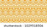 ikat seamless pattern. vector... | Shutterstock .eps vector #1029518506