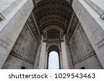 arc de triomphe  triumph arch  ... | Shutterstock . vector #1029543463