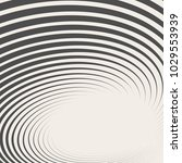 striped abstract form. vector... | Shutterstock .eps vector #1029553939
