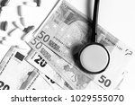 healthcare cost and insurance... | Shutterstock . vector #1029555070
