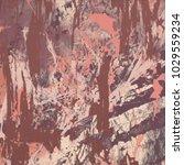 abstract painting. ink handmade ...   Shutterstock . vector #1029559234
