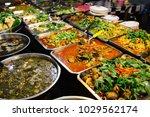 thai  thailand street food....   Shutterstock . vector #1029562174