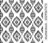 seamless black and white... | Shutterstock .eps vector #1029567673