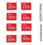the 20   25   30   50   70   75 ... | Shutterstock .eps vector #1029573940