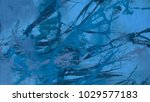 abstract painting. ink handmade ... | Shutterstock . vector #1029577183