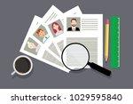 hr concept. eps vector... | Shutterstock .eps vector #1029595840
