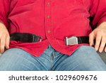 obese overweight passenger... | Shutterstock . vector #1029609676