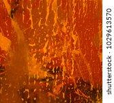 abstract painting. ink handmade ... | Shutterstock . vector #1029613570