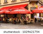 bucharest  romania   may 29 ...   Shutterstock . vector #1029621754
