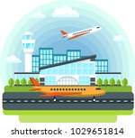 recreation and travel ... | Shutterstock .eps vector #1029651814