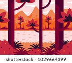 flat vector background in...