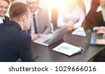 blurred image of business team... | Shutterstock . vector #1029666016