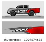 truck car and vehicle racing... | Shutterstock .eps vector #1029674638
