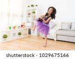 childlike childish little asian ...   Shutterstock . vector #1029675166