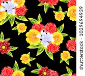 abstract elegance seamless...   Shutterstock . vector #1029694939