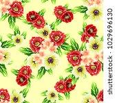abstract elegance seamless... | Shutterstock .eps vector #1029696130
