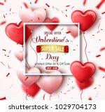 happy valentine's day sale...   Shutterstock .eps vector #1029704173