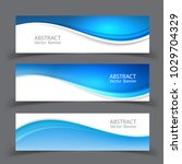 vector abstract design banner... | Shutterstock .eps vector #1029704329