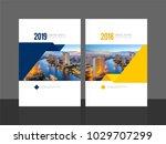 corporate cover design for...   Shutterstock .eps vector #1029707299