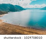 beautiful aerial landscape of... | Shutterstock . vector #1029708010