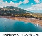 beautiful aerial landscape of...   Shutterstock . vector #1029708028