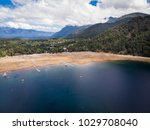 beautiful aerial landscape of... | Shutterstock . vector #1029708040