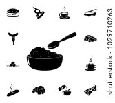 breakfast cornflakes icon.... | Shutterstock .eps vector #1029710263