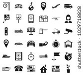 navigation complex icons set.... | Shutterstock .eps vector #1029718828